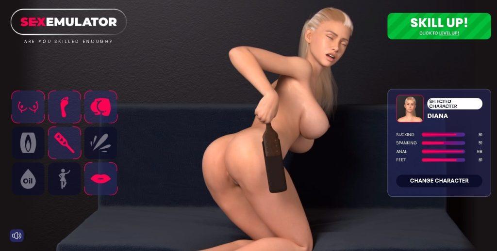 blonde sexy sur sexemulator